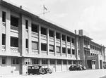 Royal Navy building hosting the headquarters of the Commander-in-Chief China Station and the Rear Admiral Malaya, Singapore, 1941