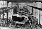 Construction of naval guns at Skoda Works, Plzen, Austria-Hungary, date unknown