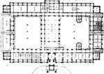 Architectural plans for the interior of Taihoku General Government Building of Taiwan by Uheiji Nagano, circa 1906