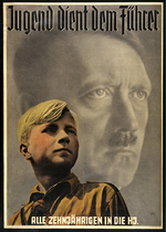 Hitler Youth recruitment poster, date unknown
