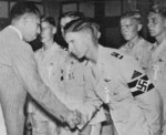 Hitler Youth members in a reception in Japan, 5 Sep 1938, photo 2 of 2