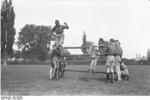 Members of the Hitler Youth in exercise, 1930s