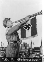 Nazi Party Hitler Youth recruiting poster