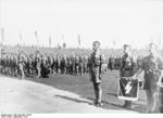 Hitler Youth members on the parade ground during the Nazi Party rally, Nürnberg, Germany, 5-10 Sep 1934