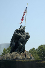 US Marine Corps War Memorial, 18 Jun 2006, photo 2 of 5