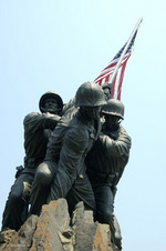 US Marine Corps War Memorial, 18 Jun 2006, photo 3 of 5