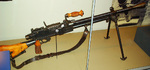 Japanese Type 99 light machine gun on display at the National Museum of the Marine Corps, Quantico, Virginia, United States, 15 Jan 2007