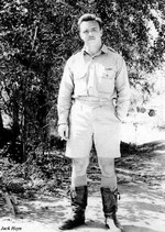 Captain Harld Maull of 13th Bomb Squadron of USAAF 3rd Bomb Group, Charters Towers, Australia, early 1942