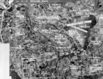 Aerial view of Taihoku (now Taipei), Taiwan, 2 Mar 1944, photo 1 of 2