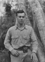 John Day of US 7th Marine Regiment on Guadalcanal, Solomon Islands, 21 Dec 1942