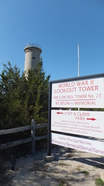 Fire Control Tower No. 23, Lower Township, New Jersey, United States, 17 Oct 2014, photo 1 of 3