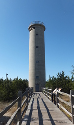 Fire Control Tower No. 23, Lower Township, New Jersey, United States, 17 Oct 2014, photo 2 of 3