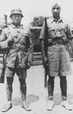 Chinese and Indian soldiers in Burma, Dec 1942