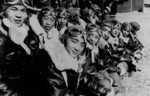 Chinese fighter pilots in advanced flight training in the United States, 13 Mar 1942