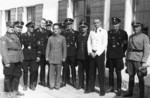 Visiting Chinese diplomat with Adolf Hitler