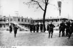 SS personnel at Dachau Concentration Camp during SS-Reichsf?hrer Heinrich Himmler