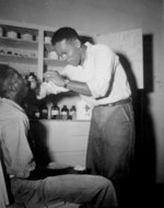 US Navy African-American Pharmacist