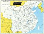 Map of China, 1920-1950