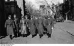 German SS men on the street of Kharkov, Ukraine, 6-12 Nov 1942