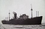 German armed merchant cruiser Atlantis immediately after she had stopped Egyptian passenger liner ZamZam in the South Atlantic, 18 Apr 1941