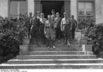 Achim von Arnim and others at the Nazi Party SA training school at Castle Harnekop in Germany, Aug-Sep 1932, photo 1 of 2