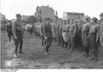 Nazi Party SA men on a parade ground in Britz, Berlin, Germany, 1932, photo 2 of 3