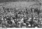 Nazi Party gathering at Bad Harzburg, Germany, 11 Oct 1931