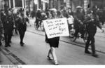 German SA men publicly humiliating Jewish attorney Michael Siegel, München, Germany, 10 Mar 1933, photo 2 of 2