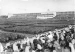 German Reich Labor Service gathering at Zeppelinfeld, Nürnberg, Germany, 6-13 Sep 1937