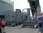 Tomahawk missile launchers aboard New Jersey, 14 Jun 2004, photo 1 of 2