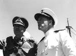 Alexander and Kirk at Mers el Kabir, Algeria, 23 Jun 1943