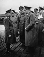 Ion Antonescu, Adolf Hitler, Joachim von Ribbentrop, and others, date unknown