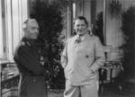 Antonescu and Göring at the Belvedere Palace, Vienna, Austria, 5 Mar 1941