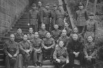 Chinese military leaders Bai Chongxi, Chen Cheng, Gu Zhutong, Zhou Zhirou, Xu Hanmou, Tang Boen, and others, Chongqing, China, 1942