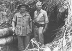 Blamey and Eichelberger, New Guinea, 1943