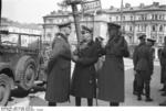 German Generals Blaskowitz and Weichs in Warsaw, Poland, Sep-Oct 1939, photo 2 of 5