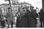 German Generals Blaskowitz and Weichs in Warsaw, Poland, Sep-Oct 1939, photo 4 of 5