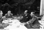 Subhash Chandra Bose and Heinrich Himmler, Germany, summer 1942, photo 3 of 5