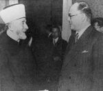 The Grand Mufti of Jerusalem Mohammad Amin al-Husayni and Indian nationalist leader Subhash Chandra Bose in Berlin, Germany, 1943