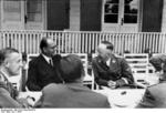 Subhash Chandra Bose and Heinrich Himmler, Germany, summer 1942, photo 2 of 5