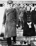 Adolf Hitler and Eva Braun, date unknown