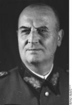 Portrait of General Walther Buhle, 1944