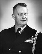 Portrait of Commodore Burke, circa 1944-1945 or 1946-1947