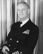 Portrait of Captain Burke, circa late 1940s