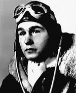 US Navy pilot George Bush, 1942