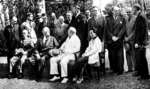 Chiang Kaishek, Franklin Roosevelt, Winston Churchill, and Song Meiling, Cairo, Egypt, Nov 1943, photo 3 of 4
