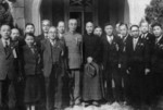 Chiang Kaishek with government officials, date unknown