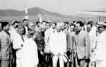 President Chiang Kaishek of China and President Syngman Rhee of South Korea in Chinae, South Korea, Aug 1949