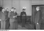 Vasily Chuikov and Otto Grotewohl at the founding of East Germany, Berlin, 7 Oct 1949, photo 2 of 2