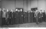 Vasily Chuikov and Alexander Kotikov, Berlin, East Germany, 11 Nov 1949, photo 1 of 2